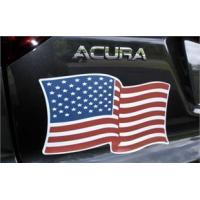 Buy cheap Bumper Stickers American Flag Magnet - 7