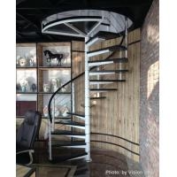 Spiral staircase spiral staircase with timber steps