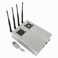 Quality New Style High Power Desktop Cell Phone Jammer - CDMA/3G/GSM Blocker with 2 Cooler Fans for sale