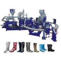 China Automatic rotary pvc boots injection moulding machine on sale