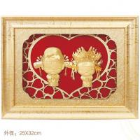 Buy cheap 3D gold foil lover collection frame best wedding gift 2016 from wholesalers