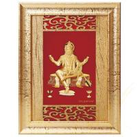 Buy cheap 3D gold foil hanuman frame hot selling in dewali from wholesalers