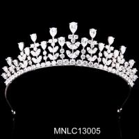 China Esquisite Wedding Crowns Tiara Factory Directly Supply Bridal Crowns Bridal Hair Accessory on sale