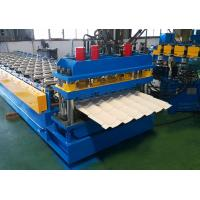 China Glazed tile roof sheet roll forming machine on sale