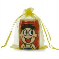 China wholesale exquisite customized size organza pouch on sale