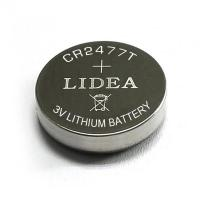 China 3.0V lithium button cell BUTTON CELL CR2477 on sale