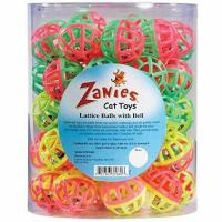 Cheap Zanies Plastic Lattice Balls Cat Toy Canister, 50-Pack wholesale