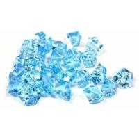 Cheap Tanday 2 Pounds Baby Blue Acrylic Ice Rock Vase Filler Gems or Table Scatter wholesale