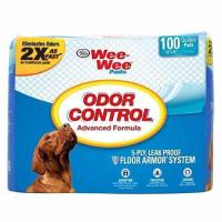 "Cheap 100 Ct 22 "" inch X 23"" inch - Four Paws Wee-Wee Odor Control Pads for sale"