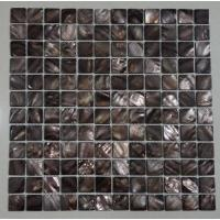 Cheap Groutless Mother Of Pearl Subway Tile Backsplash Home Depot Polished Finish for sale
