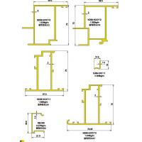 120 150 Structural Drawing of Insulating Curtain Wall