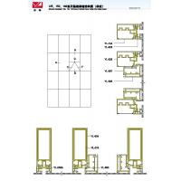 Cheap 125 150 180 Structural Drawing of Hidden Frame Curtain Wall Series (Single Glass) wholesale