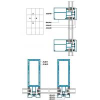 Cheap 200 Structural Drawing of Exposed Frame Insulating Curtain Wall wholesale