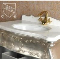 Cheap Construction Bathroom Under Table Sink with Ceramic Material (SN001) for sale