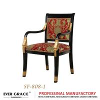 China Solid wood armchair dinning chair - SF-808-1 on sale