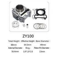 Cheap Yamaha Motorcycle Cylinder Repair Kit ZY100 For Yamaha Jog 100 Scooter wholesale
