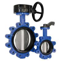 Buy cheap Fully Lug type butterfly valve, DI body, manual operated. from wholesalers
