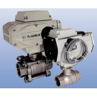 Buy cheap Electric operated threaded end ball valve (two-piece body, three-piece body) from wholesalers