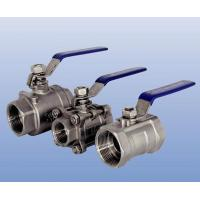 Buy cheap Handle operated threaded end ball valve from wholesalers