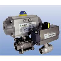 Buy cheap Pneumatic operated threaded end ball valve (two-piece body, three-piece body) from wholesalers