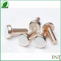 Buy cheap Bimetal contact rivets from wholesalers