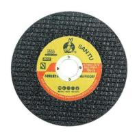 Buy cheap SANTU T41 DOUBLE NETS RESIN BONDED CUTTIGN DISC FOR STEEL from wholesalers