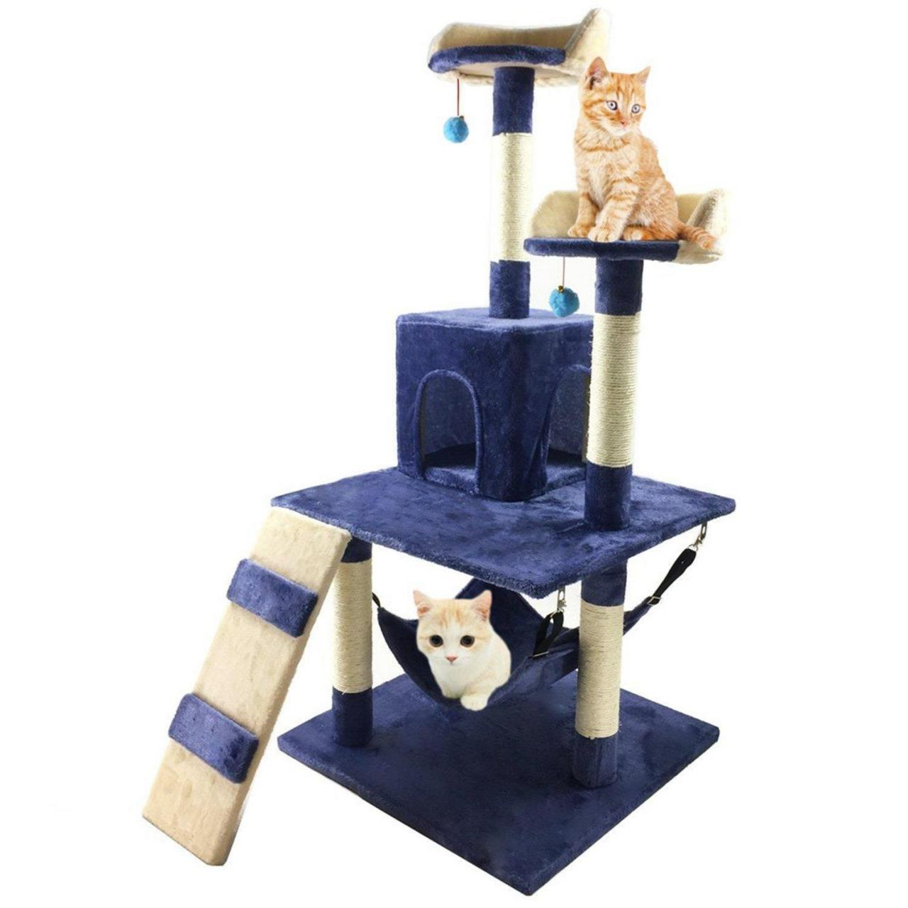 Cheap Pelay Cat Tree Condo Furniture Bed Pet Scratching Post Kitten House (M13) for sale