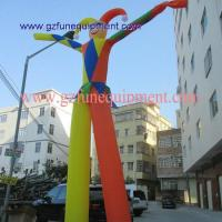 China Air tight inflatable games Clown air dancer for event on sale