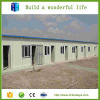 Export low cost affordable america light steel prefab house