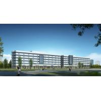 Cheap Prefab Steel Structural Multi-Storey Modular Commercial Building Complex office Made in China for sale