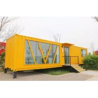 Cheap Low Cost Prefab Homes Modular Building for Tourist Reception Center for sale