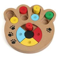 Cheap Paw shaped dog IQ training toy for sale