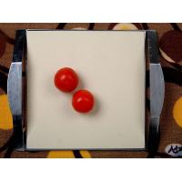 Cheap PIZZA square plate-15 inch Square Pizza Stone with Frame wholesale