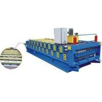 Buy cheap Electric Control Double Layer Roll Forming Machine , Cnc Roll Forming Machine from wholesalers