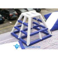 Cheap INFLATABLE floating jungle gym,Inflatable Water Climb Slide, wholesale