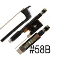 China Bows Top Model A Silver Braided Carbon Fiber Violin Bow on sale