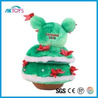Cheap Electrical Christmas Tree Plush Toy With High Quality And Can Pass EN71 Test for sale