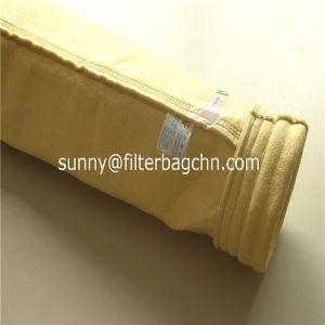 China High Temperature Fiberglass Filter Bags for Cement Industry