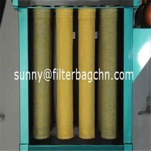 China Dust Collection High Temperature Polyimide Filter Bags for Cement Kiln