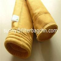Buy cheap High Tensile Strength P84 Filter Bags with PTFE Dipping Used in Dust Collector from wholesalers