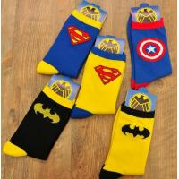 Cheap Superman Socks Cotton for sale