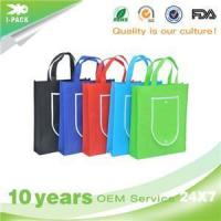 Ipack Factory Cheap Heat Seal Ultrasonic Foldable Non Woven Tote Bag