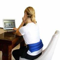 Buy cheap Back Pain Relief Blue - My Heating Pad- Adjustable Lumbar & Abdomen Heat Therapy Pack from wholesalers