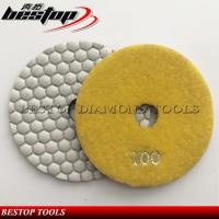 Cheap 5 125mm Hexagon Polishing Pad for Marble and Granite Used wholesale