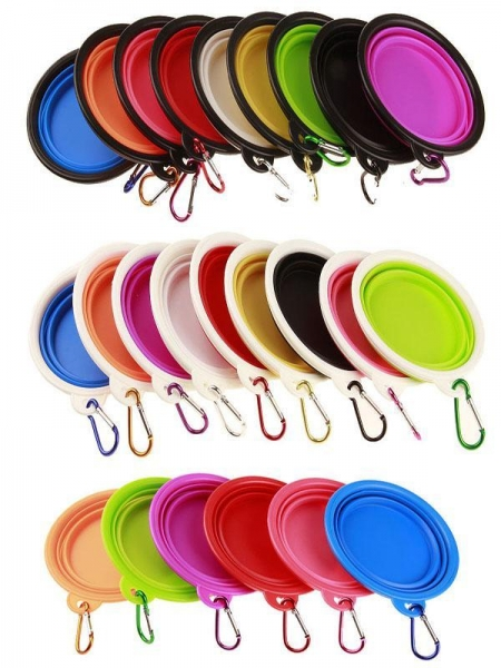 Quality Silicone Pet Bowl/ Dog Bowl/ Pet Dishes,collapsible dog bowl,China Manufacturer wholesale