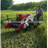 Cheap 4LZ-0.7 mini wheat combine harvester for crawler or Tyre wheel wholesale