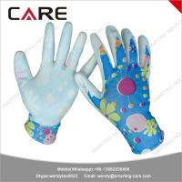 Cheap cheap nitrile coated nylon gloves grip work made in china for sale