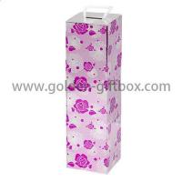 China Custom champagne packaging box champagne flute gift box on sale