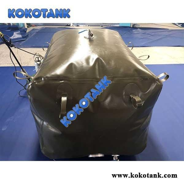 China KOKO-CWT KOKO Flexible and foldable TPU or PVC rectangular soft water storage tank