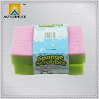 China 2 Packs Sponge Dish Scrubber on sale